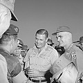 Robert Mcnamara And General by Everett