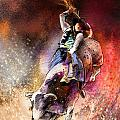Rodeoscape 01 by Miki De Goodaboom