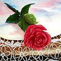 Rose And Lace by Joni McPherson