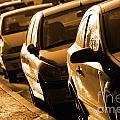 Row Of Cars by Carlos Caetano