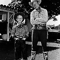 Roy Dusty Rogers Jr., And His Father by Everett