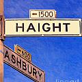 San Francisco Haight Ashbury by Wingsdomain Art and Photography