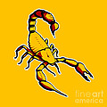 Scorpion Graphic  by Pixel Chimp