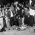 Segregationist Protest. White Students by Everett