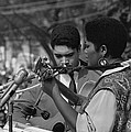 Singer Odetta At The 1963 Civil Rights by Everett