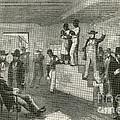 Slave Auction, 1861 by Photo Researchers