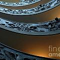 Staircase At The Vatican by Bob Christopher