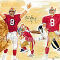 Steve Young - Hall Of Fame by George  Brooks