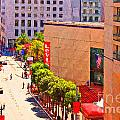 Stockton Street San Francisco Towards Union Square by Wingsdomain Art and Photography