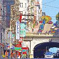 Stockton Street Tunnel In San Francisco . 7d7355 by Wingsdomain Art and Photography