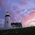 Sunset Tints The Sky by Stephen St. John