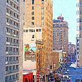 Sutter Street San Francisco by Wingsdomain Art and Photography