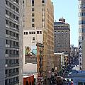 Sutter Street West View by Wingsdomain Art and Photography