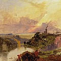 The Avon Gorge At Sunset  by Francis Danby
