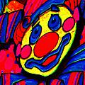 The Circus Circus Clown by Wingsdomain Art and Photography