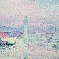 The Lighthouse At Antibes by Paul Signac