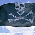 The Pirate Flag Known As The Jolly by Stephen St. John