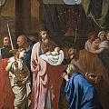 The Presentation Of Christ In The Temple by Charles Le Brun