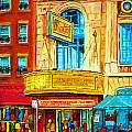 The Rialto Theatre by Carole Spandau
