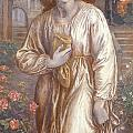 The Salutation  by Dante Charles Gabriel Rossetti