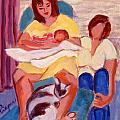 Three Generations by Elzbieta Zemaitis