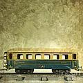 Toy Train by Bernard Jaubert