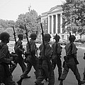 Troops At The University Of Alabama by Everett