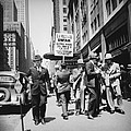 Union Men Picketing Macys Department by Everett