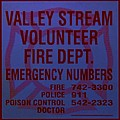 Valley Stream Fire Department In Blue by Rob Hans