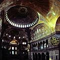 View Of The Interior Of Hagia Sophia by James L. Stanfield