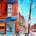 Wilensky Corner  by Carole Spandau