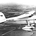Wiley Posts Plane Winnie Mae Overhauled by Everett