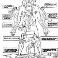 Zodiac Man, Medical Astrology by Science Source