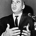 Zulfikar Bhutto At A 1965 Press by Everett