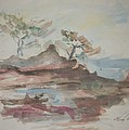 Pacific Seascape Watercolors of California Collection