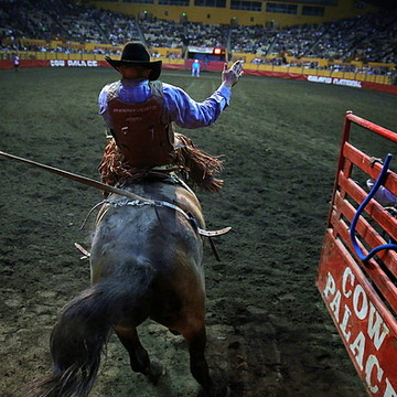 2015 Grand National Rodeo at the Cow Palace in San Francisco