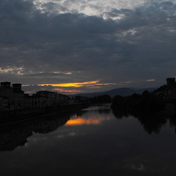 A sunrise with the Creator in Florence Italy Collection