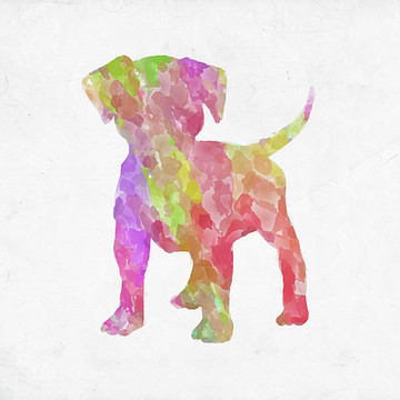 Abstract Watercolor Animals Collection