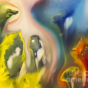 Abstraction watercolor painting Collection
