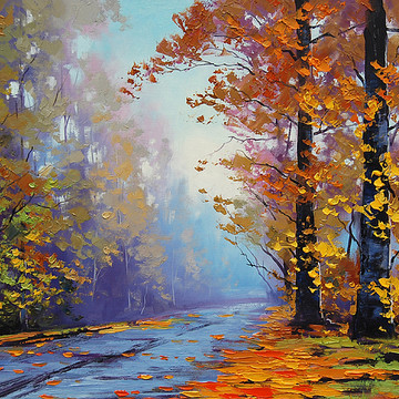 Autumn Paintings and Prints Collection