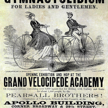 Bicycle Patent Art Collection