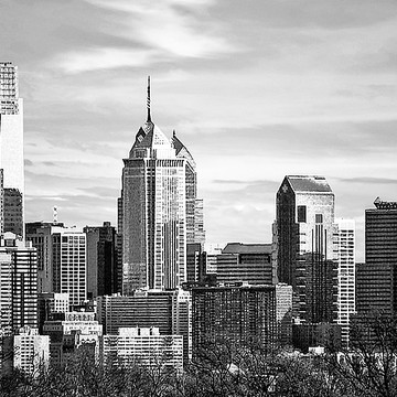 City Skylines in Black and White Collection
