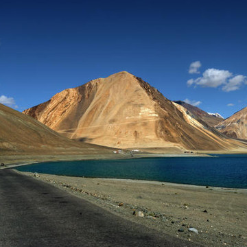 Heading for the Blue - The Pangong Lake Collection Collection