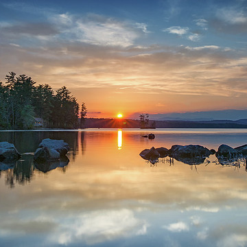 Highland Lake Maine Collection