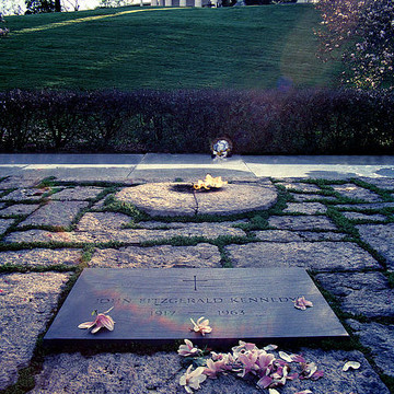 Jfk Gravesite Historical Photograph Collection