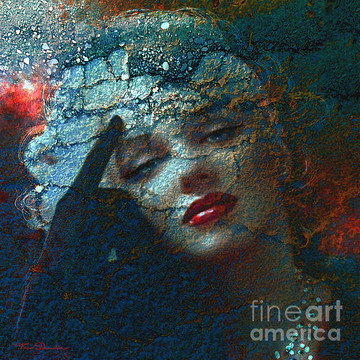 Marilyn in Dark Art Collection
