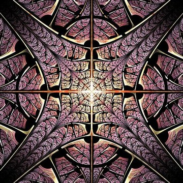 Metalwork - Fractal Art Collection