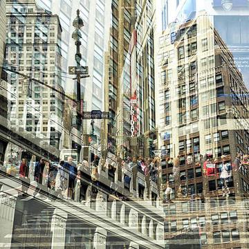 New York City - Double Exposure Collection