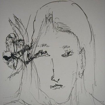 Pen And Ink Doodle Portrait Gallery Collection