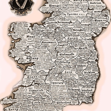 THE COUNTIES and FAMILIES OF IRELAND Collection